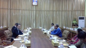 Meeting at Nya Pyi Daw on 4th of March 2014